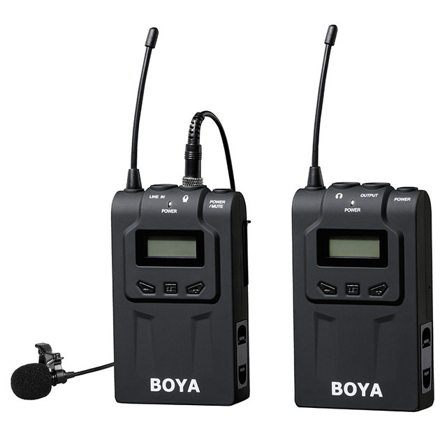 BOYA BY WM6 UHF Wireless Microphone System Omni directional Lavalier Microphone for ENG EFP DV DSLR_640x640 aliexpress com buy boya by wm6 uhf wireless microphone system Basic Electrical Wiring Diagrams at edmiracle.co