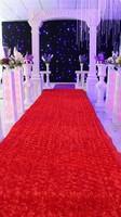 140cmX10Meter Wedding Stage 3D Rose Flower Home Decor Stage Hall Wedding Carpet Aisle Runner Mats Pads T station carpet