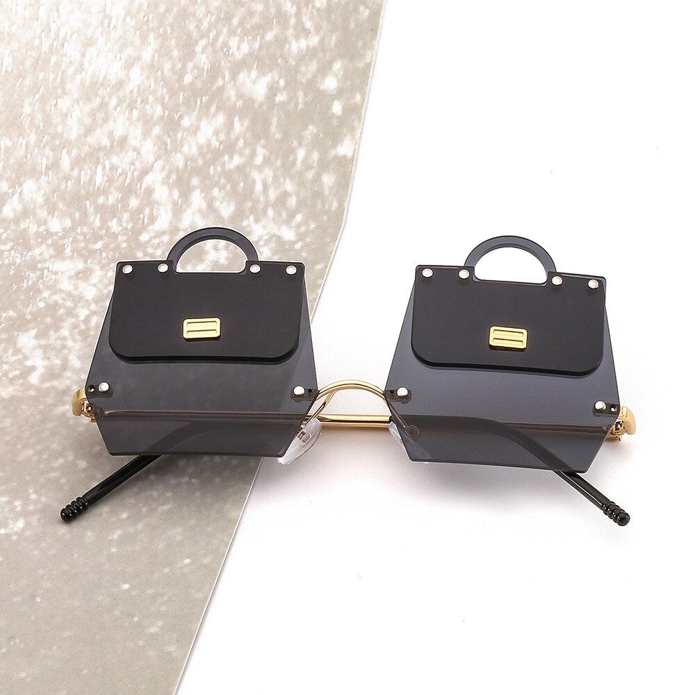 New trend handbags sunglasses female irregular metal frame modern catwalk fashion sunglasses in Women 39 s Sunglasses from Apparel Accessories