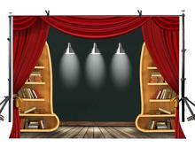7x5ft Comfortable Study Backdrop Symmetrical Arrangement Background Indoor Photo Props