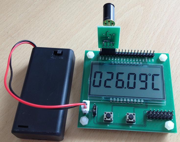 MLX90614ESF-DCI temperature measurement development board, MLX90614ESF non-contact digital sensor crown dci 2 1250n