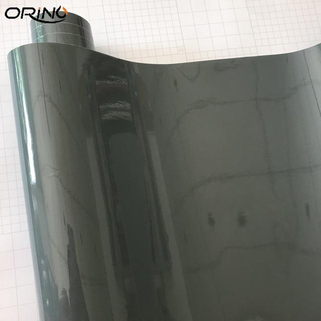 Film de revêtement en vinyle pour voiture, gris Nardo, Ultra brillant, gris brillant, 10/20/30/40/50cm x 152cm