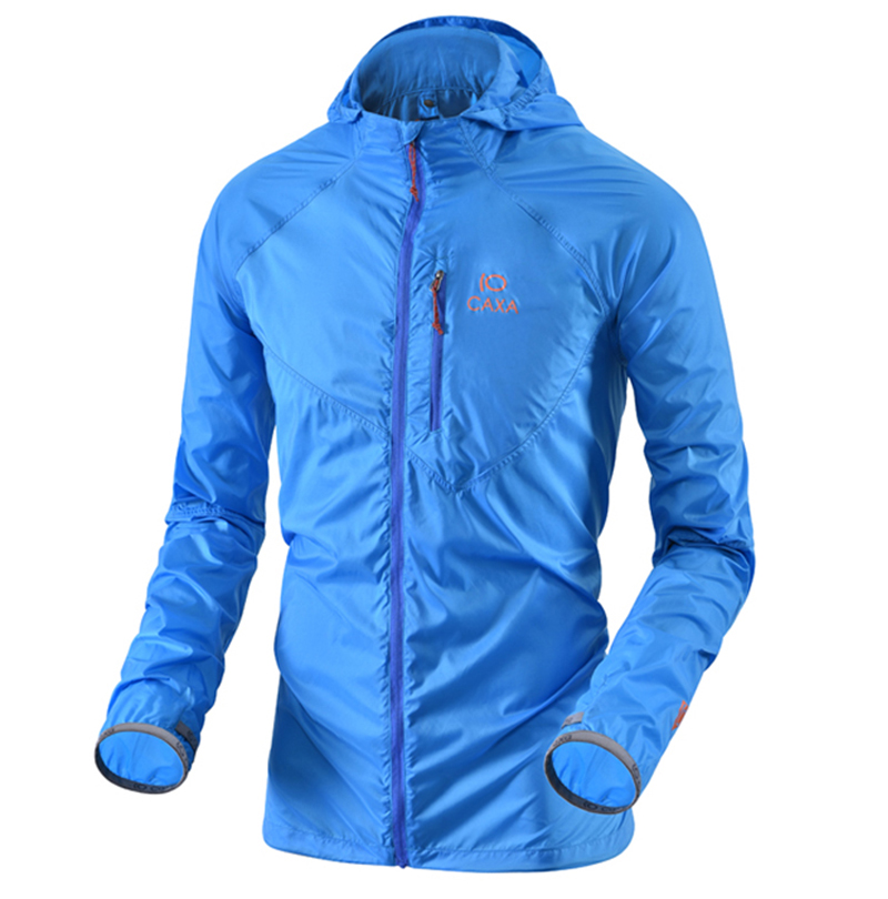 Summer Outdoor Male Sun-Protective Jacket Quick dry Breathable Waterproof Men Coat Super light Cycling Fishing Camping Jacket