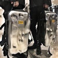 Backpack men's bump damage bag high end design trend ins short distance travel sports training fitness travel backpack