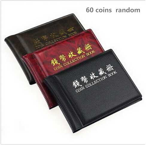 Hot 20/60/120 Mini Penny Coin Storage Album Book Collecting Coin Holders for Collector Gifts Pockets Coins Album Collection Book