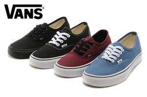 VANS size36-39 Four color canvas shoes Sports Weight lifting shoes d940c7e4d14bb