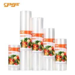 Cymye еда держатель для хранения сумки VB01 вакуумные пластиковый ролик изготовление размеров под заказ сумки для винные пробки к для