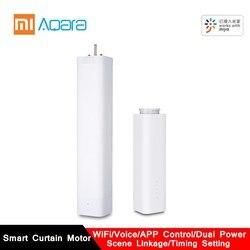 2019 AQara B1 inalámbrico inteligente motorizado eléctrico cortina Motor WiFi/voz/App Control remoto inteligente hogar cortina Motor