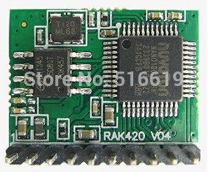 Бесплатная доставка Интернет вещей RAK421 сверхнизким энергопотреблением WI-FI модуль однокристальный высокоскоростной SPI модуль WI-FI