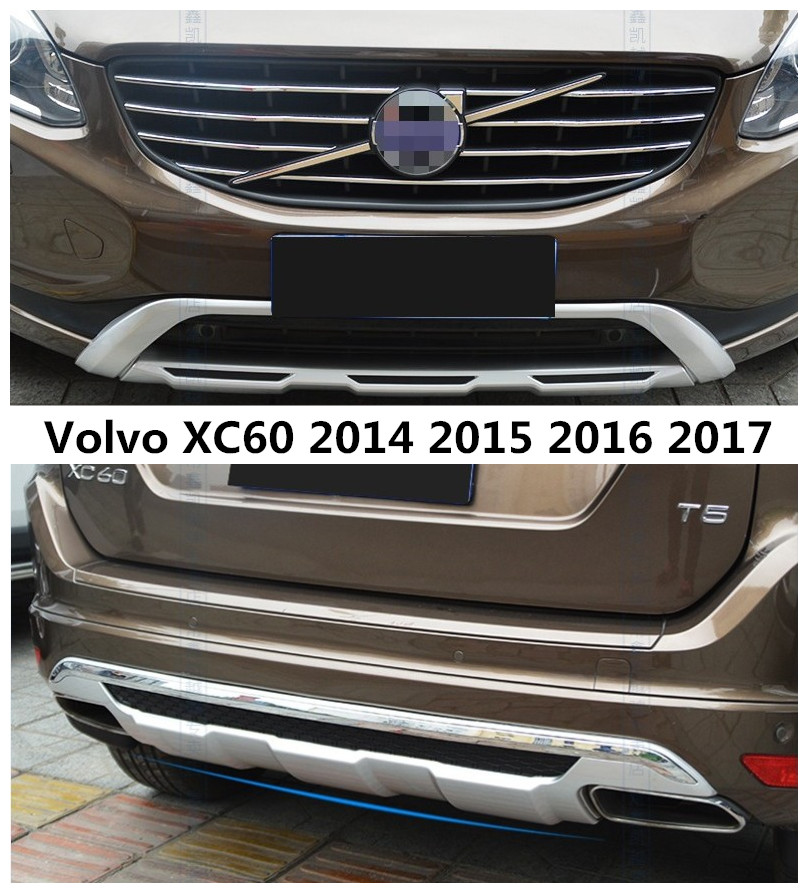 2015 Volvo Xc60 Review: For Volvo XC60 2014 2015 2016 2017 Front+Rear Bumper