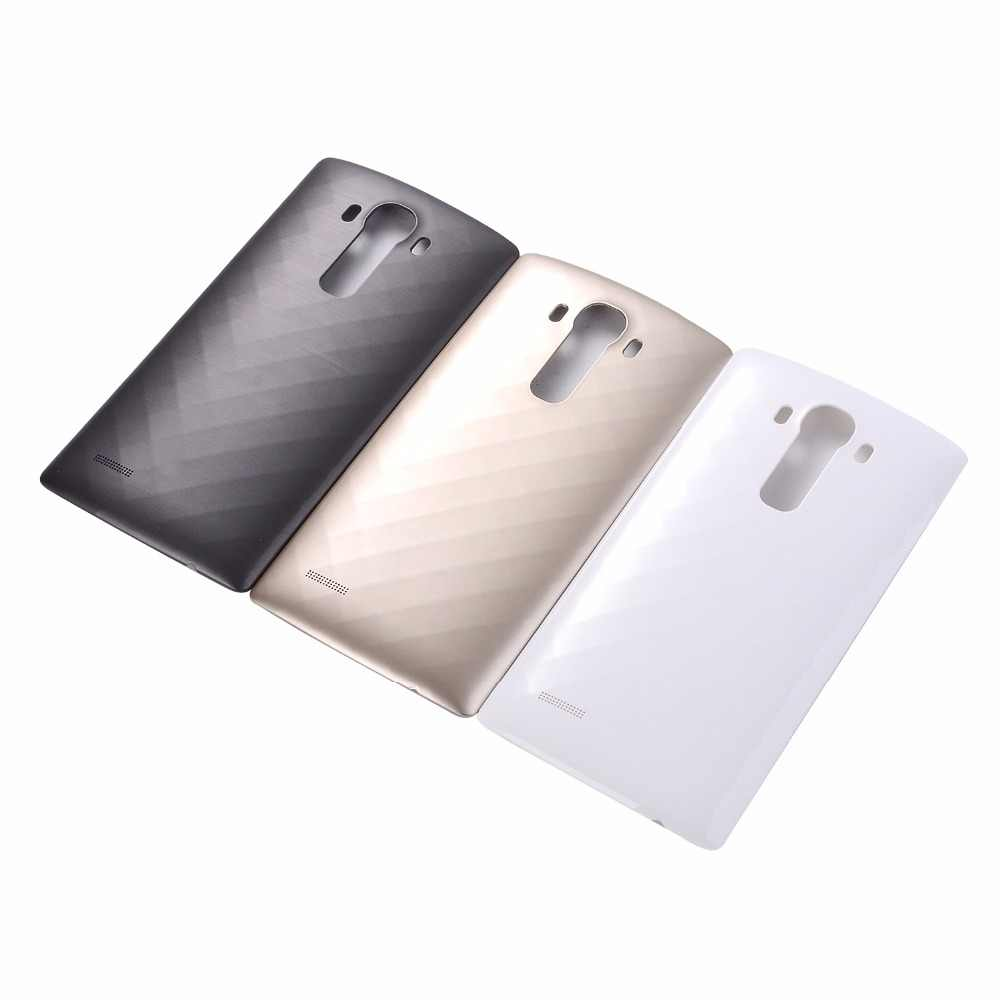 Orijinal arka kapak batarya muhafazası Kapı ve NFC Değiştirme ile LG Için G4 H810 H811 H812 H815 H818 VS986 Pil Kapağı