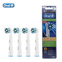Oral B EB50-4 Cross Action Electric Toothbrush Heads Replacement Teeth Brush Heads for D12 / DB4510 / D16 / D20 / D34