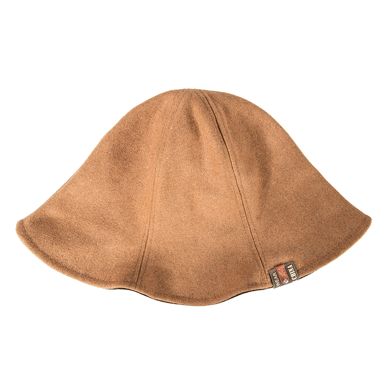 106ceefe9f8 WISH CLUB Women Hats Fashion Fedoras Warm Ladies Fedora Bucket Cotton Sweet  Caps Classic Retro Wide Brim Hat 2019 Trendy Hats-in Fedoras from Apparel  ...