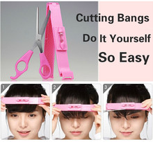 Professional DIY Hair Cut Tools Women Artifact Style Set Hair Cutting Pruning Scissors Bangs Layers Style Scissor Clipper GYH(China)