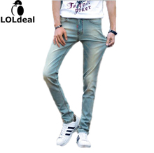 2017 New Spring Summer Men Jeans Brand Jeans With Stretch hombre mcalca Jeans Big size 40 Whole Brand Jeans(China)