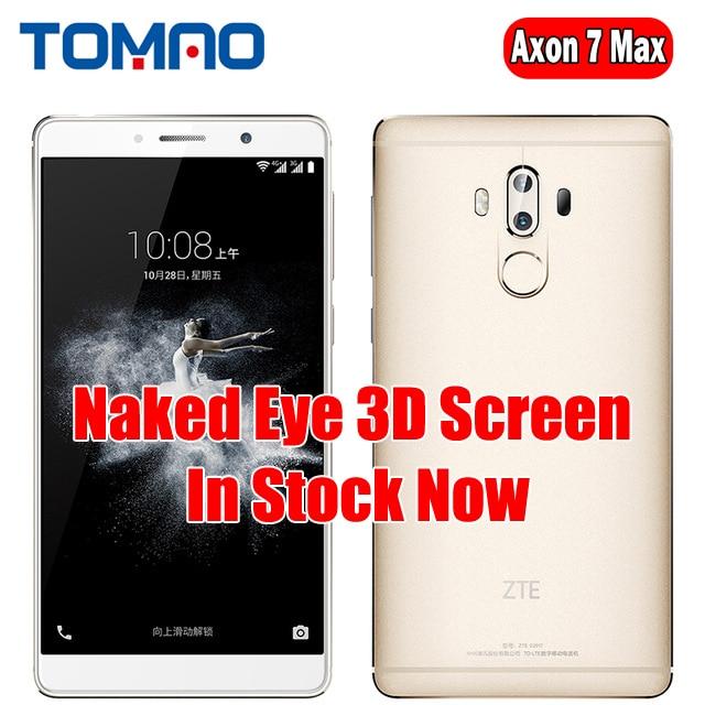 "Original ZTE Axon 7 Max 4G LTE Mobile Phone Snapdragon 625 6.0"" 1920*1080 4 RAM 64G ROM Dual Rear 16.0MP"