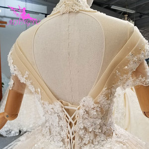 Image 4 - AIJINGYU turquie robes de mariée Robe indienne pure Robe mère de la mariée en fête deux en un Robe Petite robes de mariée