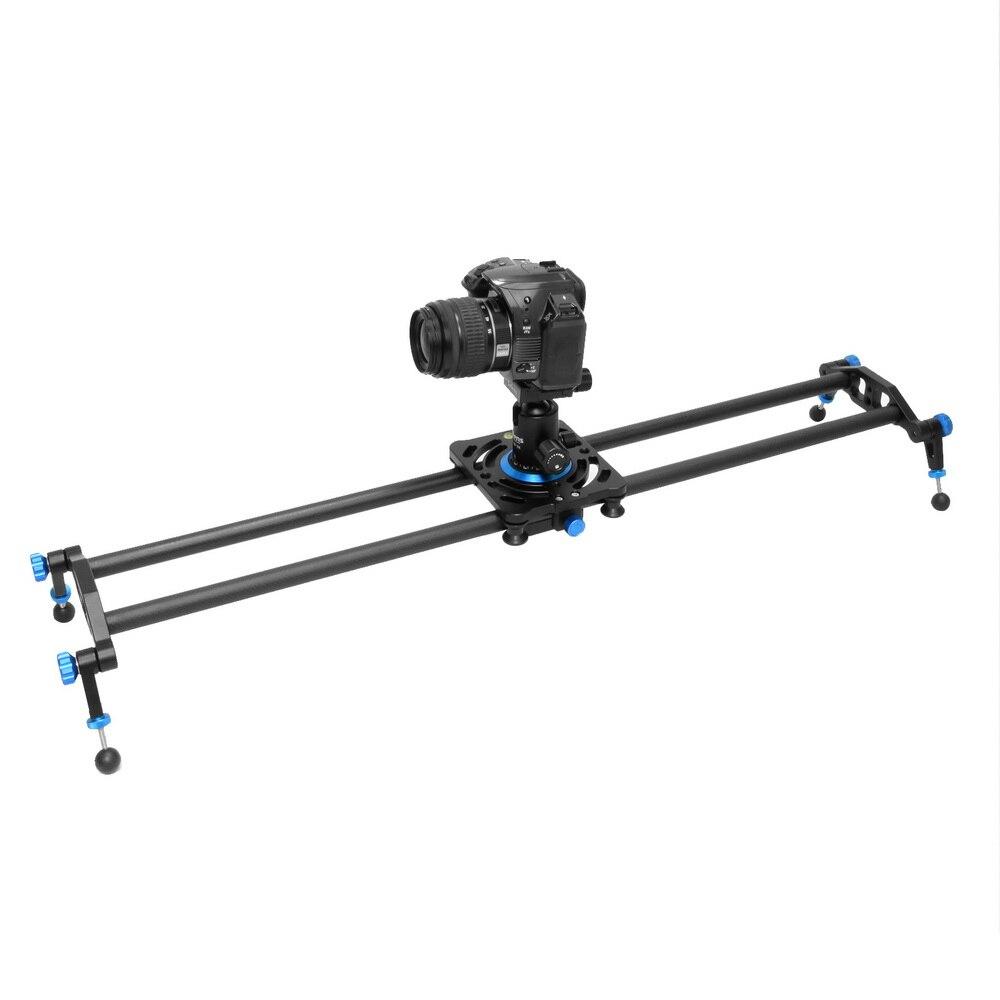 Meking 80 cm 100 cm 120 cm DSLR caméra curseur caméscope vidéo piste Dolly stabilisation système ferroviaire
