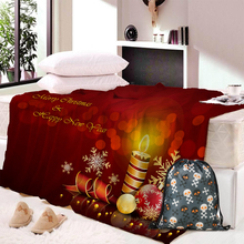 Christmas Blanket Flexing and Stretching Fox Meditation Cute Little Cartoon Animals Dotted Background Warm Microfiber