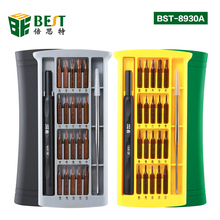 BEST 25 in 1 Screwdriver Set Precision Magnetic Screwdriver Bits for iPhone Samsung xiaomi Phone Tablet Watch Repair Tools Kit все цены