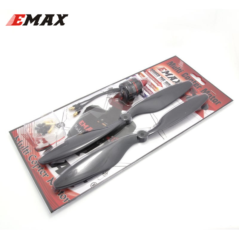 EMAX MT2213 935KV  Brushless Motor CW CCW With 1 Pair 1045 Propeller for Multirotor Quadcopters 4x emax mt1806 brushless motor cw ccw