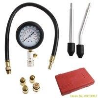 New Arrive 1Set Engine Cylinder Pressure Gauge Compression Tester Diagnostic Portable Tool Kit Drop Shipping Support