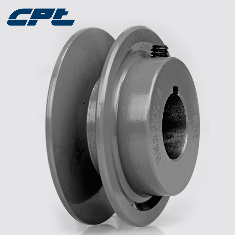 "2.75/"" DIAMETER 5//8/"" BORE 1 GROOVE V-BELT PULLEY 1-BK27-B"