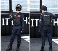 Party Outfit Boy Police Officer Brand New Cop Children Child Halloween Hot Selling Costume