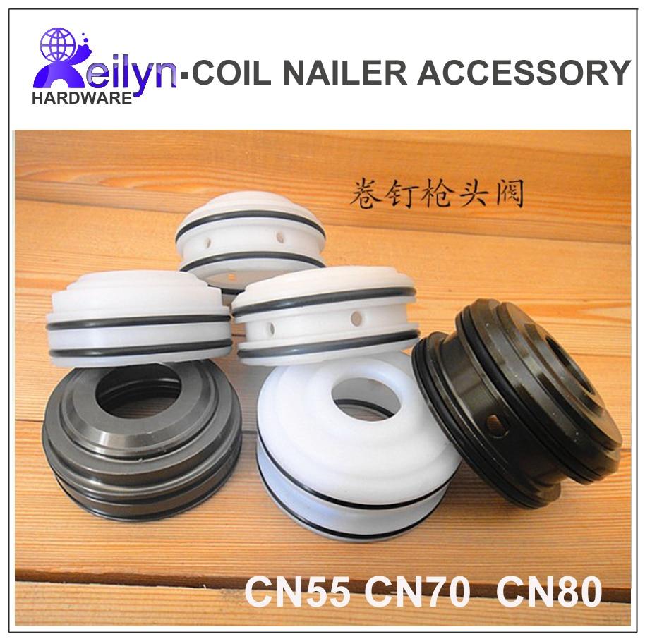 Tête piston De Soupape pour Max CN55 #17 CN70 #9 CN80 #16 Cloueuse Pièces Accessoires pièces de rechange pour Nail Gun