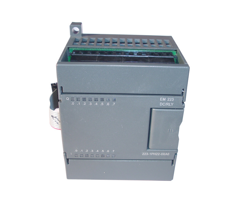 Digital module EM223-I4RQ4, compatible with S7-200 PLC, 4 input/4 relay output original simatic s7 1200 6es7223 1bh32 0xb0 digital i o 8di 8do 8di dc 24 v plc module 6es7 223 1bh32 0xb0 6es72231bh320xb0