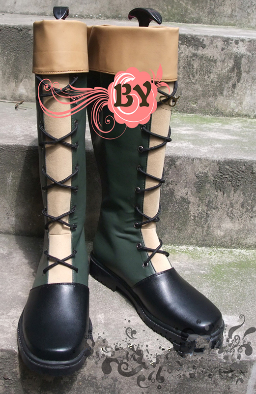 New hunter x hunter Gon Freecss cosplay shoes Custom Made boots