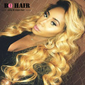 BQ HAIR Remy #613 Blonde 360 Full Lace Frontal with 2/3 Bundles Deals Brazilian Body Wave Sexay Hair 8A Lima Peru Top Aliexpress