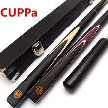 CUPPa 3/4 снукер кий 9,8 мм/11,5 мм наконечник N16 палка с чехол для кия набор расширение 5A клен кий
