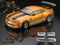 1set Camaro drift RC PC body shell 190 width Transparent clean no painted drift shell body RC hsp hpi trax Tamiya