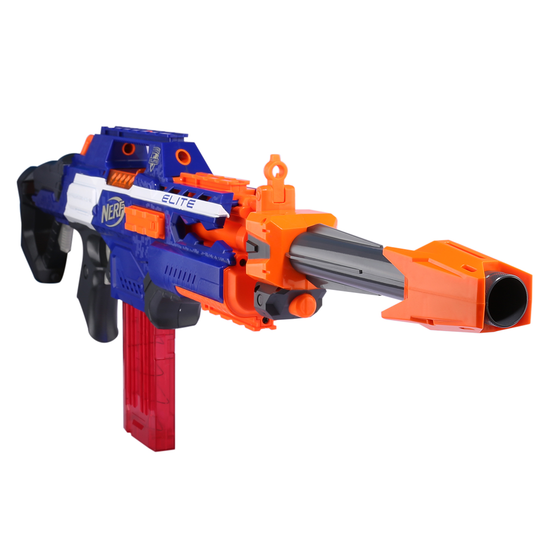 Modified Style Front Tube Decoration For Nerf Stryfe Rapidstrike Retaliator Modulus Regulator For N-Strike Elite Infinus