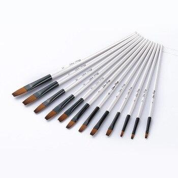 12 Pcs Watercolor Paint Brushes Paint Brushes Alca Cartel