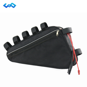 48Volt 1800W 1500W Triangle Soft Bag eBike Battery 13S8P 48V 20Ah 960Wh With 50A BMS for Bafang TSDZ2 1000W 750W 500W Engine