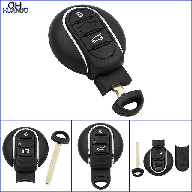 Remote Car Key Fob Smart Keyless Entry 315mhz 433mhz For Bmw Mini