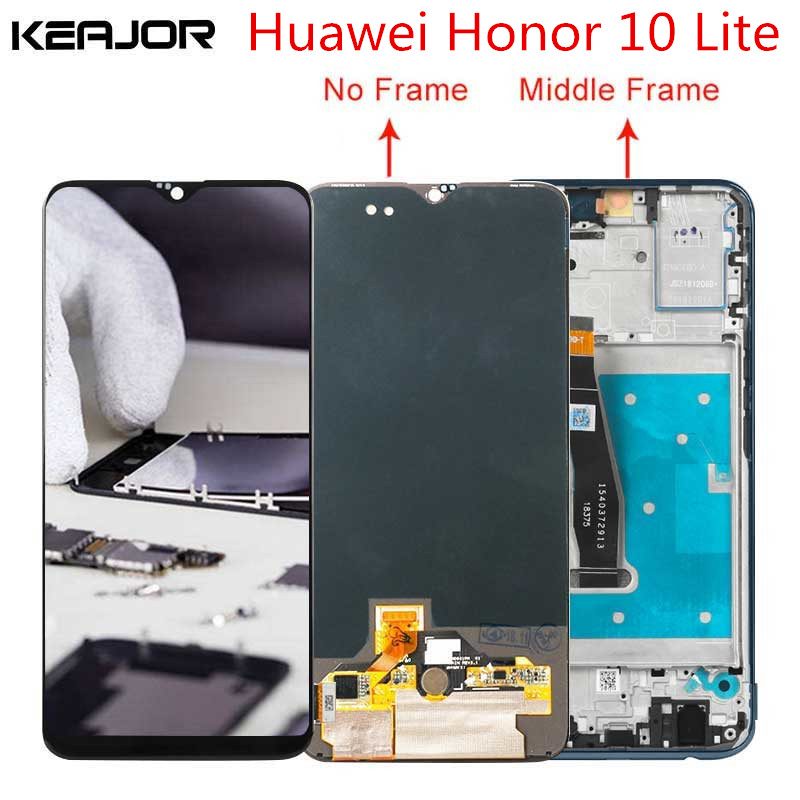 For Huawei Honor 10 Lite Lcd Screen Tested AAA Lcd Display Touch Screen with frame Replacement