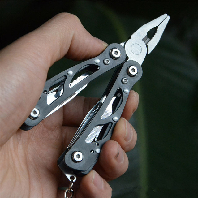 Outdoor Camping Survival Tools Multitool Tactical Pliers Versatile Repair Folding Screwdriver Military Stainless Steel EDC Gear
