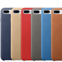 Original High Quality Genuine Leather Phone Cover Case For IPhone 7 7plus