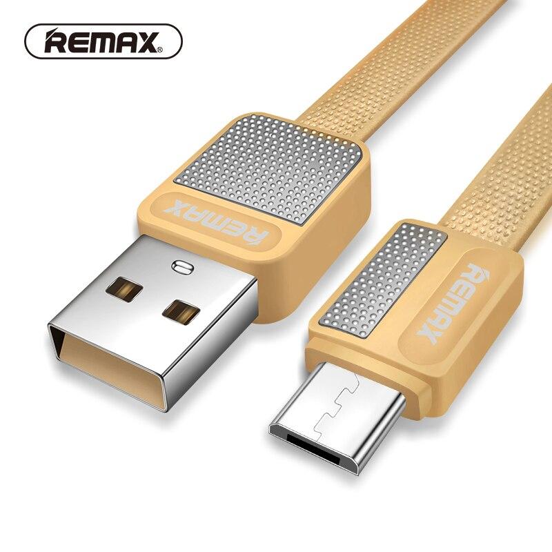Zubehör Und Ersatzteile Unterhaltungselektronik ZuverläSsig Remax Micro Usb Daten Kabel Flache Metall Ladekabel 2.1a Langlebige Schnell Ladegerät Kabel Für Xiaomi/sony/samsung/htc /mezu Gute WäRmeerhaltung