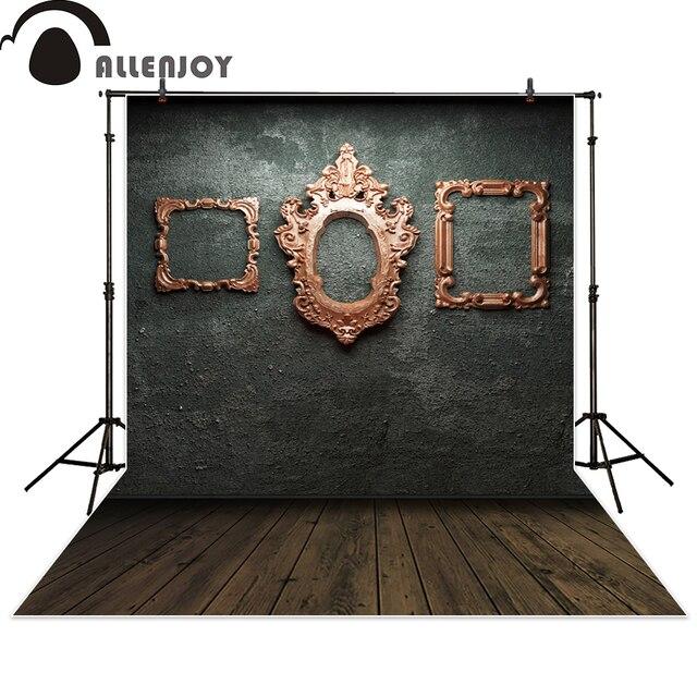 Allenjoy fotografía telón de fondo marco de la vendimia pared de ...