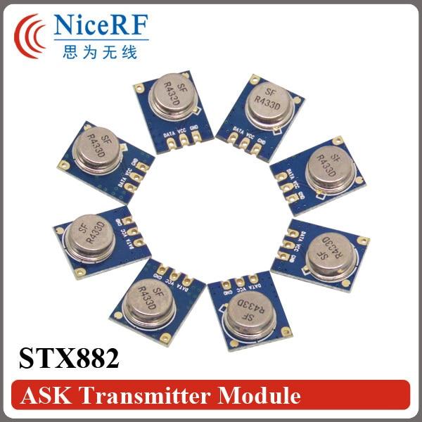 10pcs/lot STX882 433MHz ASK Wireless RF Transmitter Module
