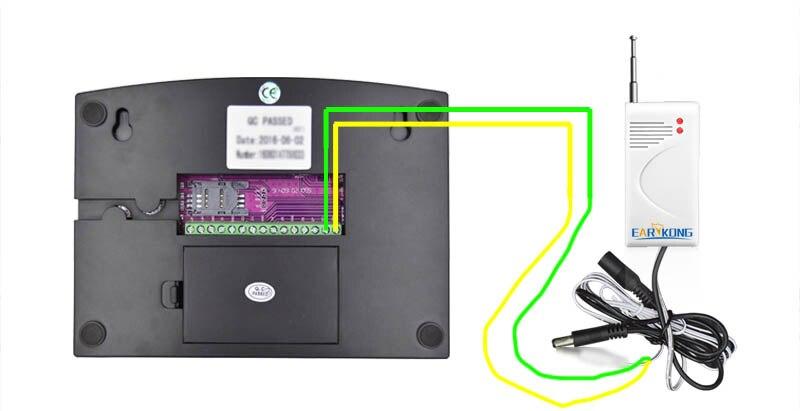 Wired wireless beam detector 2