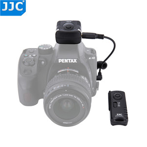 Image 2 - Jjc 카메라 셔터 릴리즈 16 무선 채널 433 mhz rf 무선 원격 컨트롤러 (pentax kp/K 70 용)
