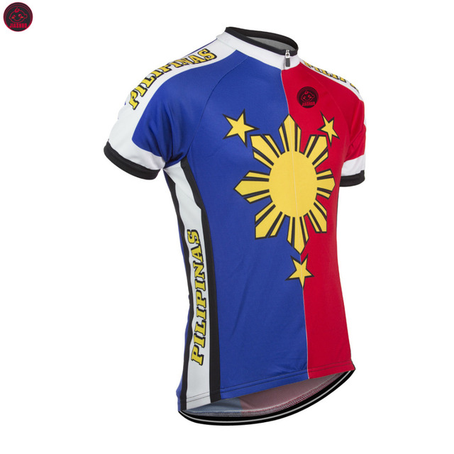 827c219b5 NEW 2017 Philippines Pilipinas Jersey Bike RACE Team Cycling Jersey Wear  Clothing Breathable Customized Ropa CICLISMO JIASHUO