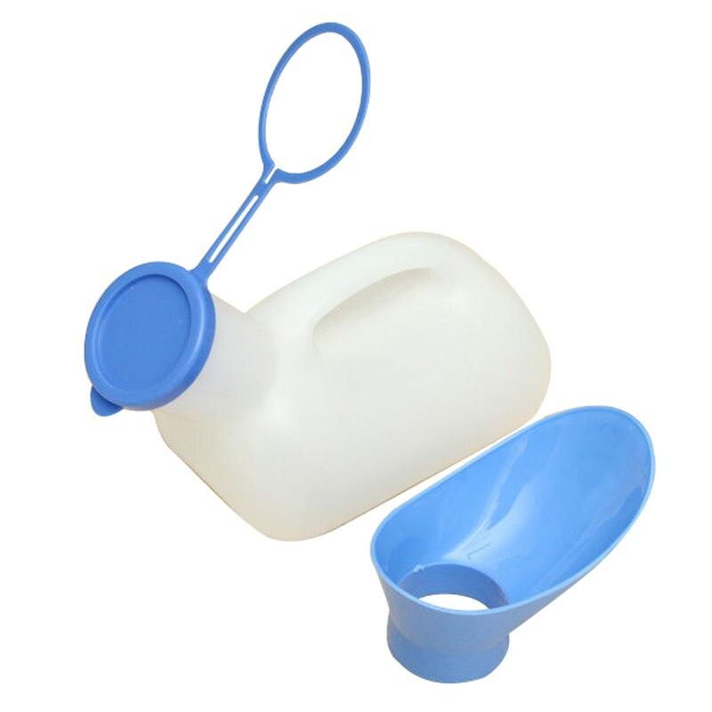 Botella Portable 1000 ML Plástico Urinario Inodoro Móvil Ayuda Coche Acampar Al