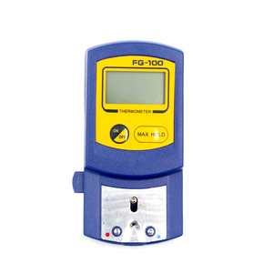 Image 3 - Digitale Thermometer FG 100 Soldeerbout Tip Temperatuur Tester Met 10Pcs Thermometer Sensor Vs Hakko Fg100