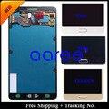 Frete grátis 100% de teste para Samsung Galaxy A7 2015 A7000 LCD Touch Screen montagem - ouro / preto / branco